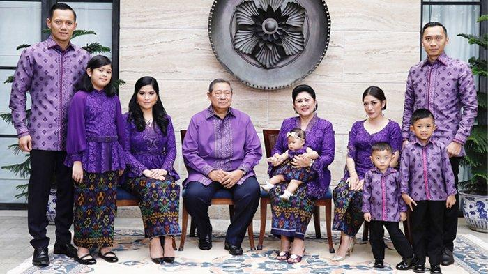 Tak Sempat Rayakan Lebaran, Intip Potret Anggun Ani Yudhoyono Berseragam Kompak Dalam Kenangan