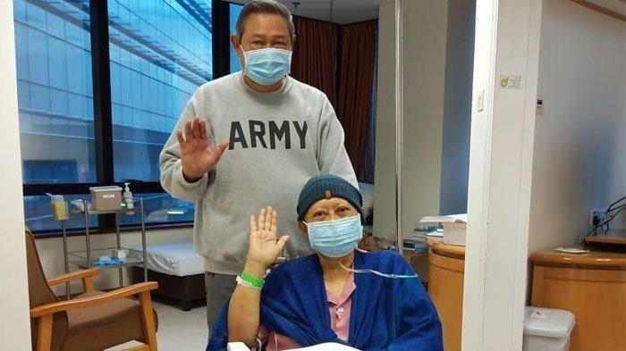 Kondisi Kesehatannya Sempat Menurun, Kemoterapi Ani Yudhoyono Terpaksa Dihentikan
