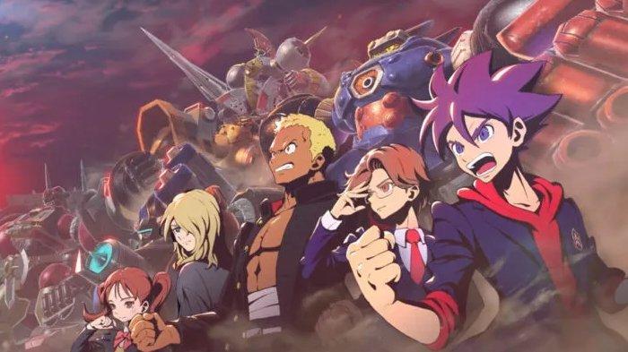 Anime adaptasi game Level 5, Megaton Musashi.