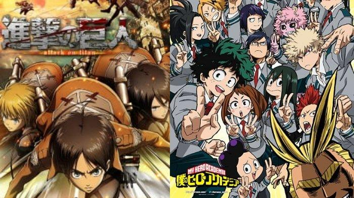 Wajib Ditonton, 5 Anime Action Ini Punya Alur Cerita Keren dan Seru, Termasuk My Hero Academia