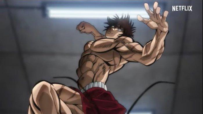 Anime Baki Hanma sudah tayang di Netflix.