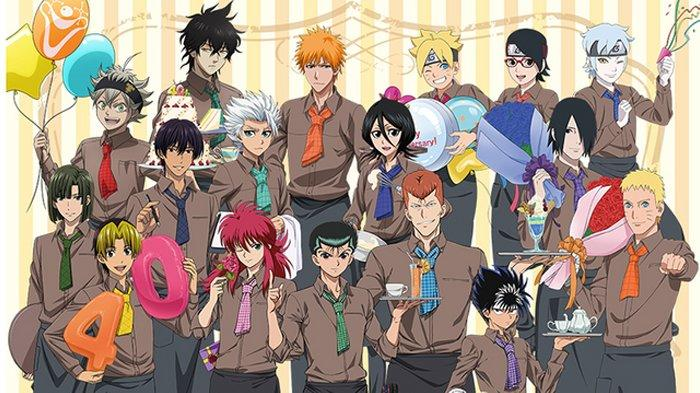 Anime besutan Studio Pierrot, termasuk Naruto.