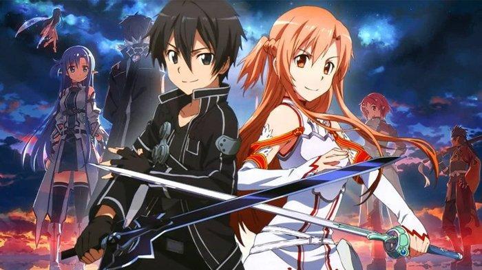 Anime isekai, Sword Art Online.