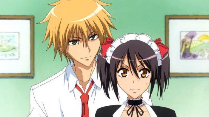 Anime Maid Sama,s alah satu yang bergenre komedi