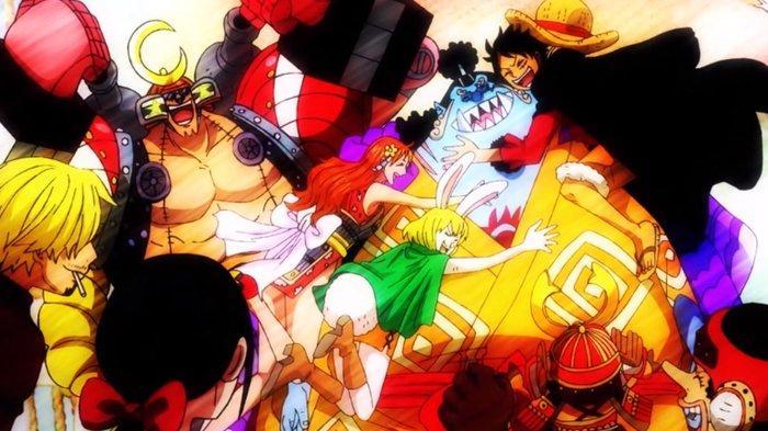 Anime One Piece episode 981, kembalinya Jinbe.