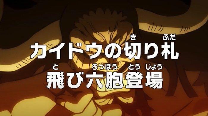 Sinopsis & Link Nonton Anime One Piece Episode 982 Hari Ini di iQIYI, Kemunculan Tobi Roppo