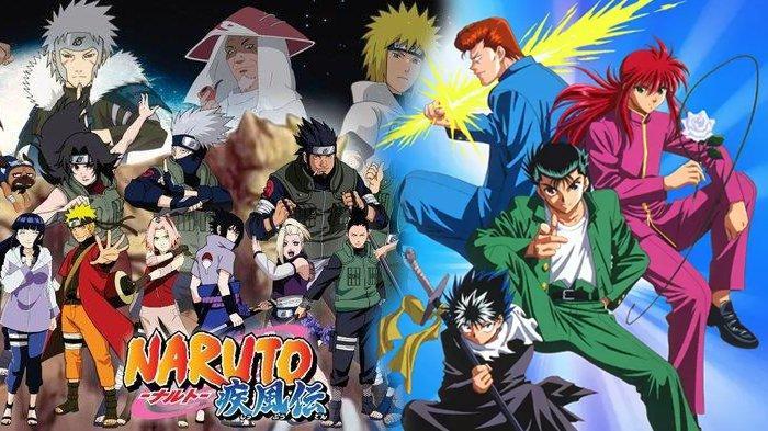 5 Anime Populer yang Digarap Studio Pierrot selain Naruto, Ada Serial Lawas Yu Yu Hakusho