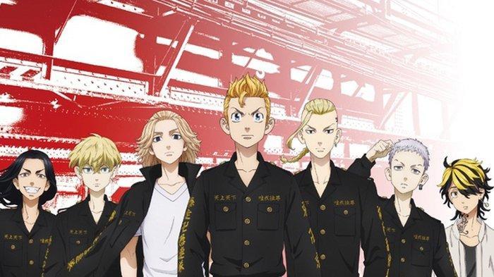 Anime Tokyo Revengers season 1.