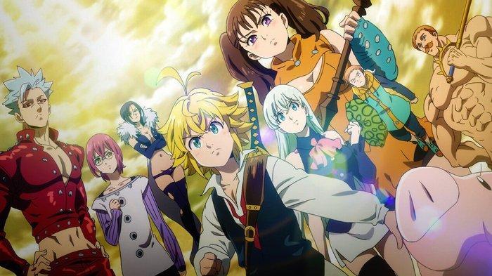 5 Anime yang Tayang pada Juli 2021, Ada Film The Seven Deadly Sins: Cursed by Light