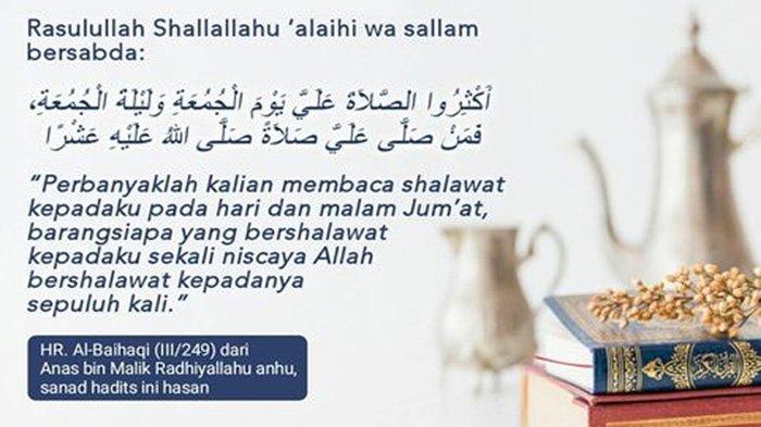 Selain Sedekah, Ini 6 Amalan Sunnah Hari Jumat yang Dianjurkan Rasulullah, Bisa Dilakukan Kapan Saja