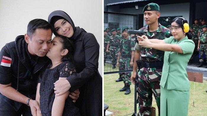 Annisa Pohan dan Agus Harimurti Yudhoyono.