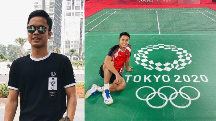 7 potret Anthony Sinisuka Ginting yang lolos ke semifinal Olimpiade Tokyo 2020