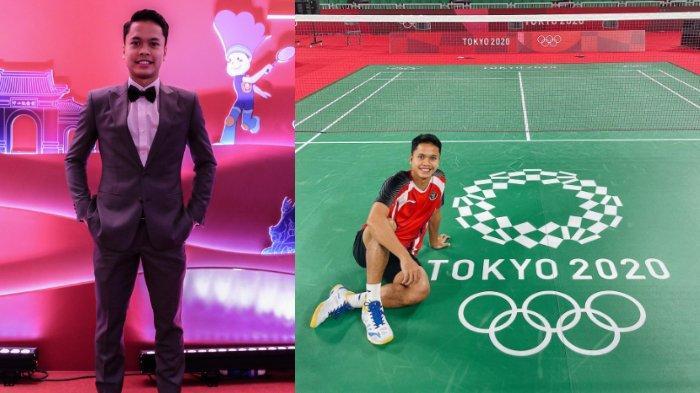 7 Potret Anthony Sinisuka Ginting, Atlet Bulu Tangkis yang Lolos ke Semifinal Olimpiade Tokyo 2020