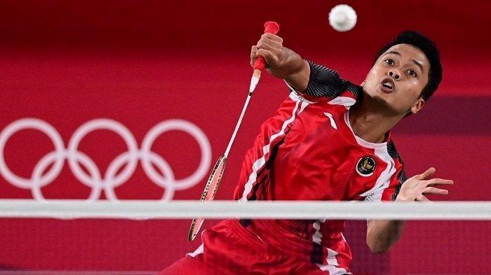 Anthony Sinisuka Ginting, tunggal putra badminton Indonesia.