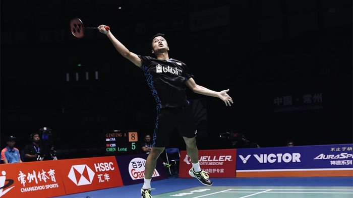 Live Streaming Wakil Indonesia Jonathan Christie Vs Anthony Ginting Hongkong Open 2018 14.15 WIB