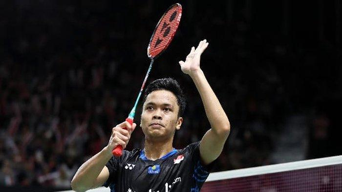 Anthony Sinisuka Ginting di Indonesia Masters 2019