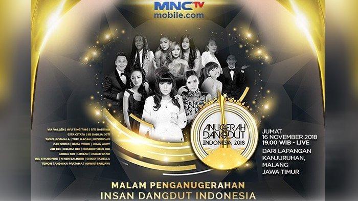 Daftar Pemenang Anugerah Dangdut Indonesia 2018, Ayu Ting Ting Raih Piala Penyanyi Dangdut Tergaul