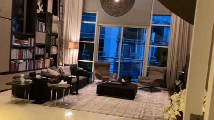 Apartemen mewah Irwan Mussry dan Maia Estianty.