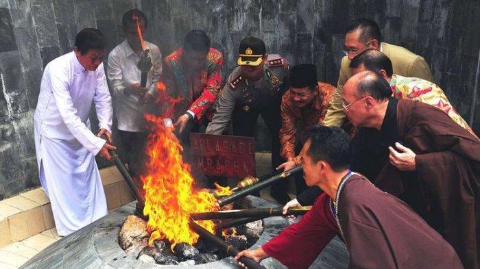 Sejarah Api Abadi Mrapen di Masa Kerajaan Majapahit, Kini Telah Padam Total & Penyebab Masih Misteri