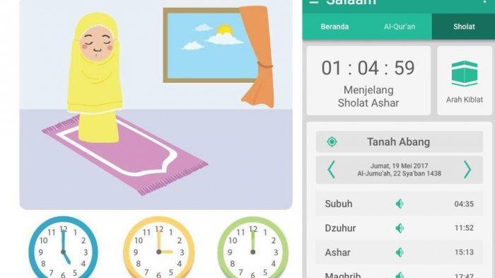 5 Aplikasi Pengingat Waktu Sholat Terbaik 2019, Bisa Jadi Solusi Bagi Kamu yang Sering Lupa Sholat