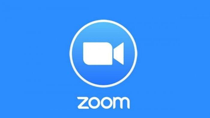 Ilustrasi aplikasi Zoom