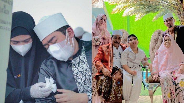 Ustaz Solmed Bertambah Usia di Tengah Duka Ditinggal Orangtua, April Jasmine: Dalam Hatiku, Menangis