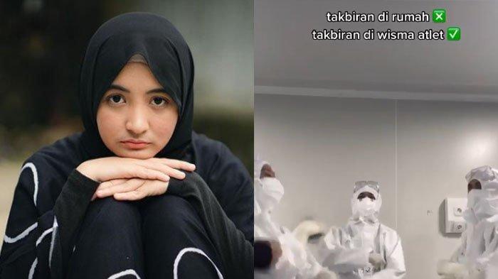 Berjuang Lawan Covid-19, Arafah Rianti Terpaksa Takbiran di Wisma Atlet, Sederet Artis Beri Dukungan