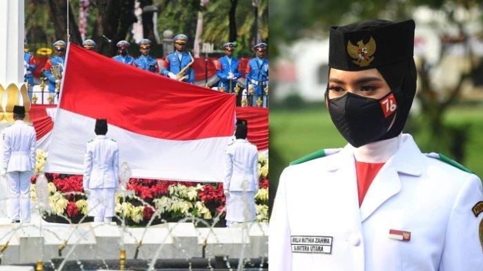 Profil Ardelia Muthia Zahwa Pembawa Baki Bendera Merah Putih HUT ke-76 Republik Indonesia