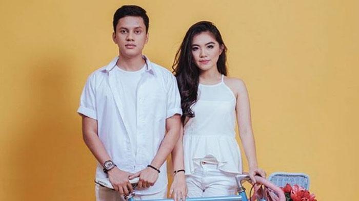Arief Muhammad dan istrinya, Tiara Pangestika alias Tipang.