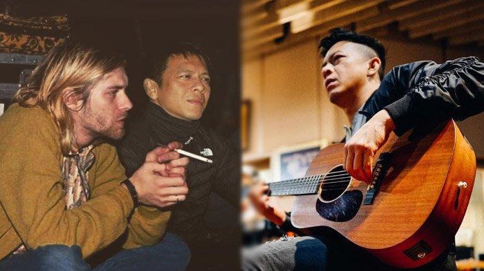Ariel Noah Unggah Potret Halu Nongkrong Bareng Kurt Cobain, Rossa & Ifan Seventeen Beri Komentar