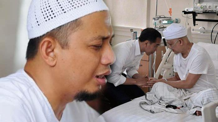 Jokowi Turut Bagikan Kondisi Terbaru Ustaz Arifin Ilham, Mohonkan Doa untuk Kesembuhannya