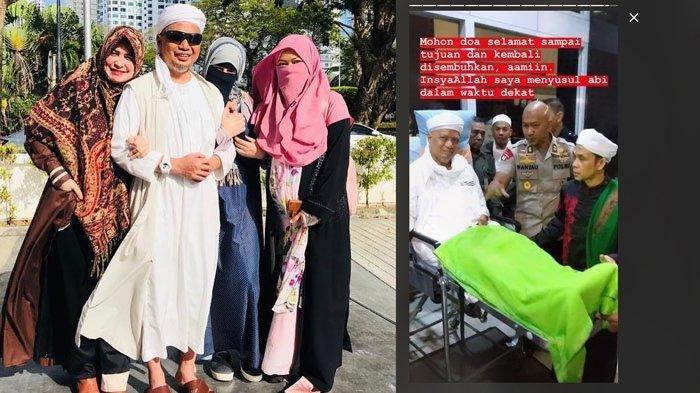 Kondisi Terbaru Ustaz Arifin Ilham, Wajah Sumringah Dikelilingi Istri di Sela Pengobatan