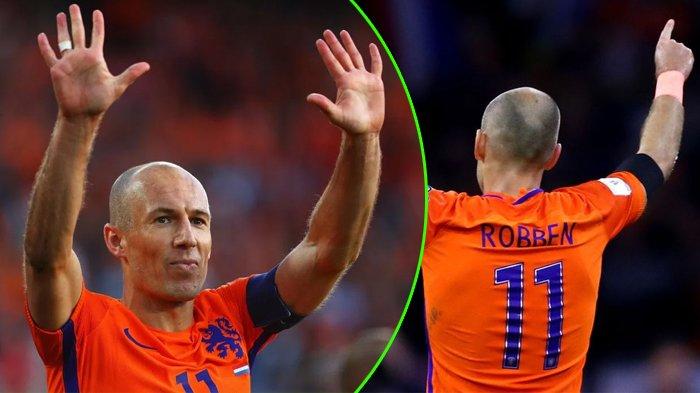 Belanda Tak Lolos Piala Dunia, Arjen Robben Langsung Pensiun, Alasannya Gak Nyangka!