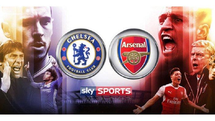LIVE STREAMING Chelsea Vs Arsenal Tonton Lewat HP di Sini!