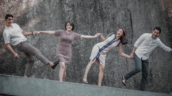 Arya Saloka Unggah Foto Pemain Ikatan Cinta, Pose dengan Amanda Manopo Disorot, Gandeng Tangan Andin