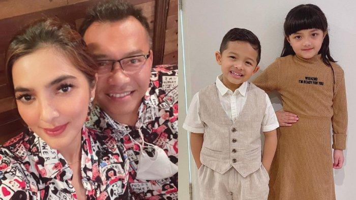 TERPISAH Berhari-hari, Momen Arsy & Arsya Main Jauh-jauhan Direkam Anang, Putri Ashanty Ngaku Kangen