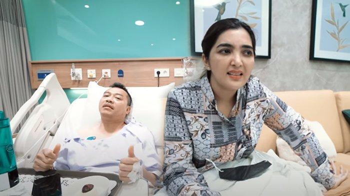 Ashanty beberkan kondisi terbaru Anang Hermansyah setepah operasi batu ginjal.