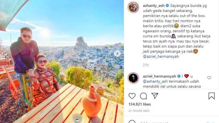 Ashanty dan Azriel Hermansyah