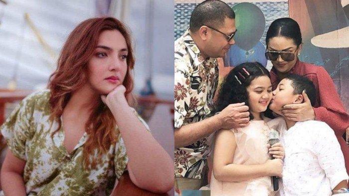 Krisdayanti Pastikan Raul Lemos & Anak-anaknya Tak Hadiri Nikahan Aurel, Ashanty Tanggapi Bijak