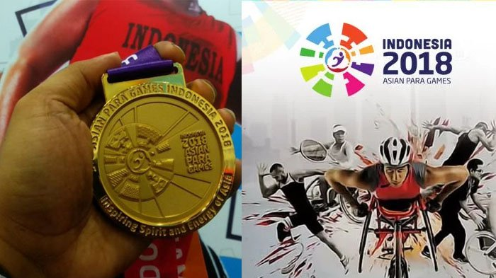 Klasemen Asian Para Games 2018, Rabu 10 Oktober, Indonesia Raih 15 Emas di Peringkat 6