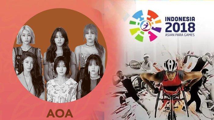 Live Streaming Closing Asian Para Games 2018 Sekarang, Jangan Lewatkan Penampilan Girlband AOA