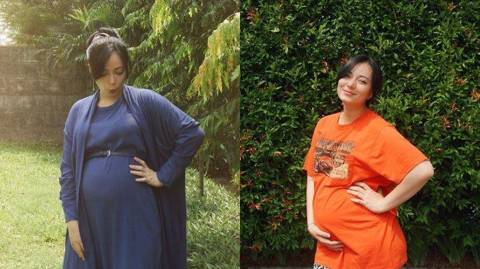 Lihat 4 Gaya OOTD Ibu Hamil Ala Asmirandah, Tetap Cantik Pakai Daster hingga Baju Jonas Rivanno