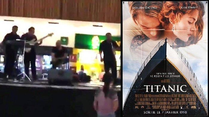 Atap Mall Ini Bocor dan Bikin Banjir, Band Musik di Dalam Mall Malah Mainkan Lagu Ini, Seperti Film