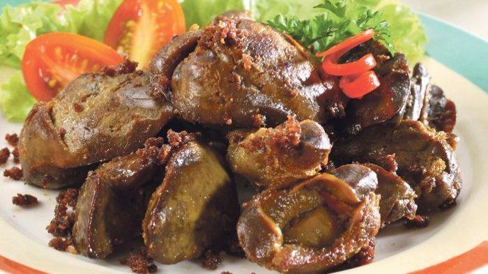 Menu Buka Puasa Ramadhan 1442, 4 Resep Olahan Ati Ayam: Bumbu Semur, Bumbu Gurih, Goreng Telur