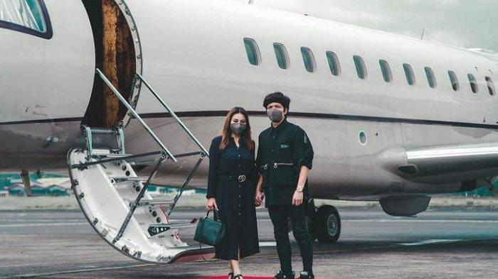 Atta Halilintar dan Aurel Hermansyah honeymoon ke Bali.