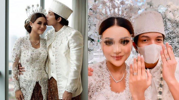 Atta Halilintar dan Aurel Hermansyah menikah