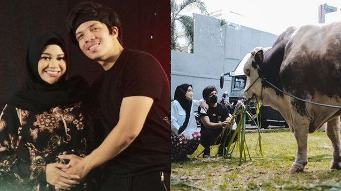 Atta Halilintar penuhi permintaan Aurel Hermansyah soal sapi kurban dengan berat 1,4 ton.