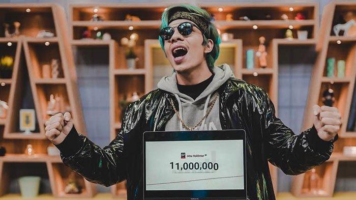 Atta Halilintar dapatkan 11 juta subscriber YouTube