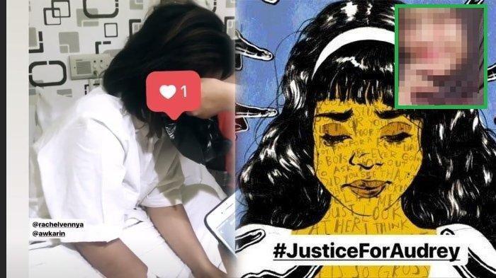 Audrey #JusticeForAudrey beri pesan menyentuh dari ranjang RS