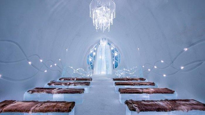 Tempat Pernikahan Terindah di Dunia, Aula dari Es hingga Kapel di Atas Lautan